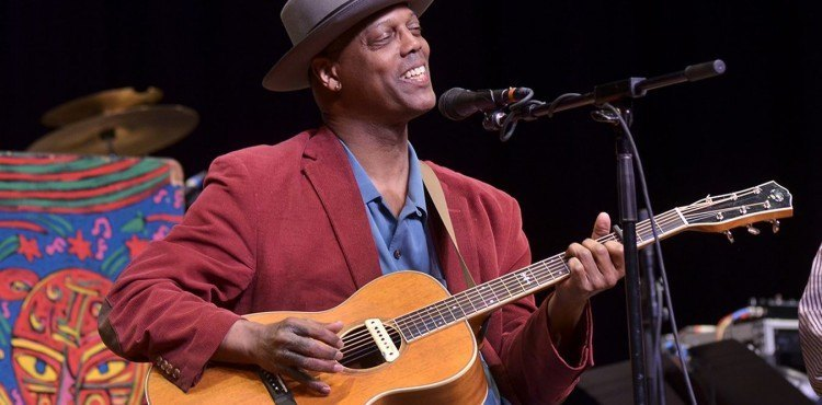 Eric Bibb at the Mountain Stage
