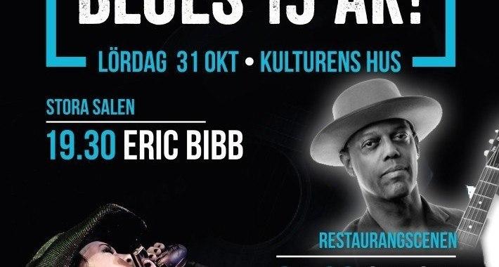 Alla helgons bluesiga natt/Svartöns firar 15 år - Eric Bibb